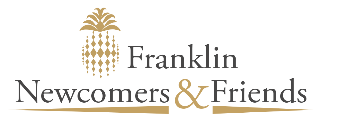 The Franklin Newcomers & Friends Club is a non-profit social and charitable organization for residents of Franklin, Massachusetts. We like to have fun, learn new things, spend time together, and give back to the community through volunteer activities and fundraisers.